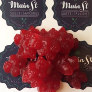 Cherry Gummy Dots 100mg