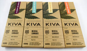 Kiva Milk Chocolate Mint Irish Cream Bar 180mg